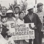 First Woman President of the California Young Democrats, 1979.