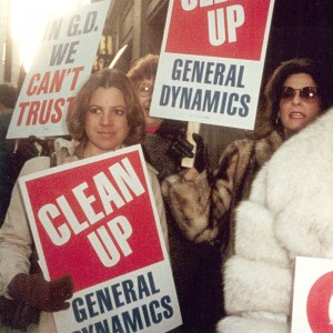 Support for General Dynamics workers.