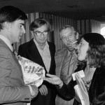 Convincing Governor Jerry Brown to support the J.P.Stevens Boycott, 1977.